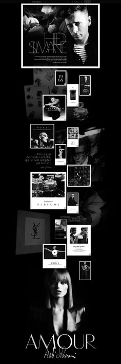 Yves Saint Laurent - tavanovincent // repinned by www.alexander-heil.de // #design #agency