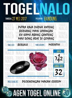 Pakong JP 5D Togel Wap Online TogelNalo Bandung 27 Mei 2017