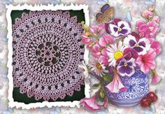 tatting frivolite chiacchierino: sweet and dear friends to you I dedicate these ima...