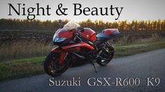 Night & Beauty Suzuki GSX-R 600   Красота Cпортбайка   Сузуки Джиксер   Denis Korza   4K #suzuki #gsxr #k9 #denis_korza #korzagru #moto #sportbike #supersport #tt #motogp #instagramstar #biker #beautymen #nature #sound #adrenalin #rush #japan #purelove #wabisabi #speed #top #motoblog