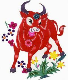 Chinese Ox Prosperity Symbol