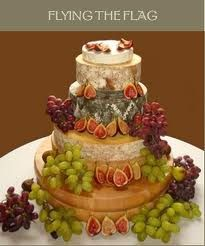 french cheese wedding cake - Google Search