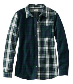Find the best Scotch Plaid Flannel Shirt, Relaxed Colorblock at L. Our high quality Women's Shirts and Tops are thoughtfully designed and built to last season after season. Plaid Fabric, Plaid Flannel, Flannel Shirt, Scottish Plaid, Tartan Pattern, Belted Shirt Dress, Patchwork Dress, Trendy Tops, Streetwear Fashion
