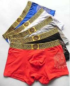 from $50.0 - #Versace Men's Underwear Boxer Briefs (4-pack)
