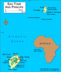 Sao Tome and Principe Atlas: Maps and Online Resources | Infoplease.com