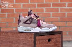 """Louis Vuitton Don"" Air Jordan 4 Custom by Dank for Wale"