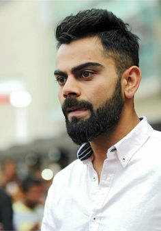 Buzzzfly brings for you the facts which are related to the Virat Kohli life. Here you get the Virat Kohli photo, unique facts in Hindi, Virat Kohli brand val. Virat Kohli Beard, Sport Fashion, Mens Fashion, Virat Kohli Wallpapers, Virat And Anushka, Dhoni Wallpapers, Cards For Boyfriend, Beard Styles, Cricket