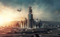 Descargar fondos de pantalla 4k, Maze Runner La Muerte Cura, el arte, 2018 película, Sci-Fi, cartel