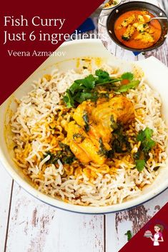 Fish Curry Recipe Easiest 6 Ingredients Make a delicious curry in less than 20 minutes with homemade curry powder coconut milk and cod fish fresh or frozen. Cod Curry Recipe, Tilapia Recipes, Curry Recipes, Seafood Recipes, Indian Food Recipes, Appetizer Recipes, Easy Fish Curry Recipe, Fish Recipes With Coconut Milk