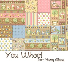 You Whoo! Collection from Henry Glass
