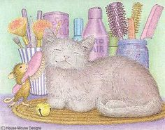 """Amanda from House-Mouse Designs® featured on the The Daily Squeek® for July 7th, 2013. Click on the image to see it on a bunch of really """"Mice"""" products."""