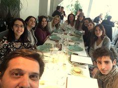 El equipo de #Villarrazo celebrando su comida de Navidad.  http://www.villarrazo.com/