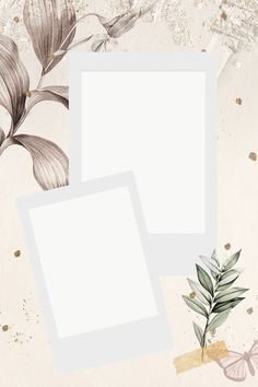 Photo Collage Template, Picture Templates, Seed Illustration, Polaroid Picture Frame, Instagram Frame Template, Artsy Background, Background Pictures, Blank Photo, Instagram Background