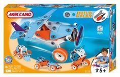 Meccano Build & Play Plane:Amazon:Toys & Games
