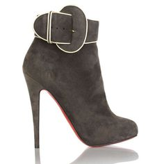 Christian Louboutin  Trottinette 140mm Ankle Boots Brown12 being unfaithful limited offer,no tax and free shipping.#shoes #womenstyle #heels #womenheels #womenshoes  #fashionheels #redheels #louboutin #louboutinheels #christanlouboutinshoes #louboutinworld