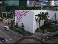 Miami-based artist Jen Stark released this video of her recently executed mural. It was commissioned by the Museum of Art, Fort Lauderdale (moafl.org). If you're in Miami for Art Basel and want to take a trip to Ft. Laudy definitely do a little drive by. Oh yes, and happy Art Baseling.