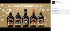 baileys christmas - Google Search Christmas Competitions, Baileys Irish Cream, Winter Warmers, Graphic Design Branding, Drinks, Bottles, Marketing, Google Search, Drinking