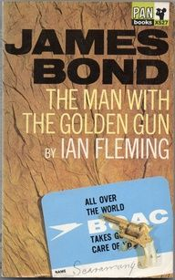 The Man With The Golden Gun - James Bond Book Covers