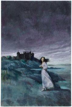 Original Comic Art:Paintings, Gothic Romance Paperback Cover Painting Original Art (undated)....