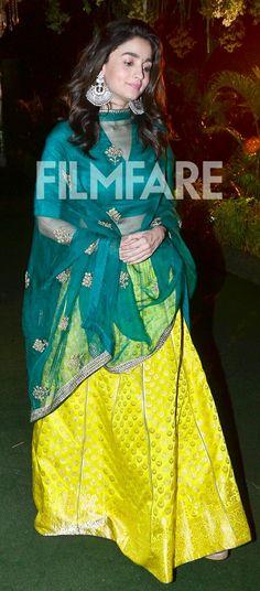 Bollywood actress Alia bhatt in lengha