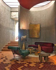 Home Interior Design, Interior Architecture, Interior And Exterior, Interior Decorating, Modern Contemporary Living Room, Interior Inspiration, Fashion Inspiration, Decoration, Furniture Design