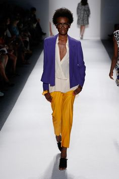 Tracy Reese SS13...new favorite designer. These pants seem so comfy