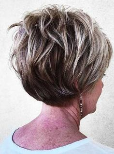Who does not like pixie hairstyles? At first glance, it may seem like it belongs to teenagers, but women over 50 can also use these 15 pixie hairstyles for over 50 years. There are a number of short h Short Hairstyles Over 50, Older Women Hairstyles, Pixie Hairstyles, Cool Hairstyles, Latest Hairstyles, Medium Hairstyles, Pixie Haircut, Hairdos, Layered Haircuts For Women