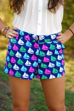 Sailboat Shorts, $44.99