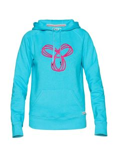 TNA Pullover Hoodie with Puff Spiro in cyan and fluro magenta Tna Sweater, Sweater Coats, Sweater Jacket, Sweaters, Dance Outfits, Cool Outfits, Casual Outfits, Fashion Outfits, Casual Clothes