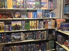 New board game store in South Austin - lots of planned gaming nights throughout the week.