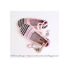 (4) Name: 'Crocheting : KIDS Happy Scrap Slippers 4 Sizes
