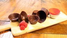 Chocolade cups - recept | 24Kitchen