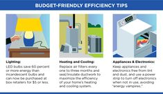 Looking for ways to make your home more energy efficient? These tips can help - and they are easy on your wallet too!