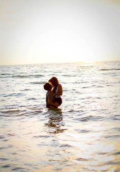 Nothing like spending time at the beach with the one you love ♡