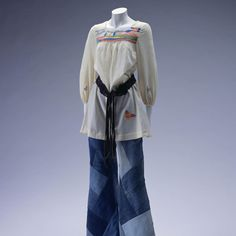 1971 Smock and jeans  source: KCL Digital