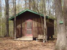 a Sukkah (Hebrew for House of God) at Camp Caroline Furnace