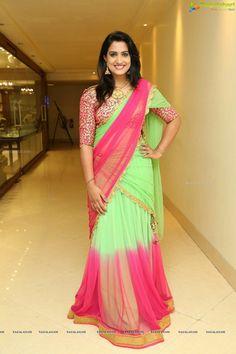 Half Saree, Indian Beauty Saree, Hottest Photos, Lehenga, Beautiful Dresses, Sari, Actresses, Clothes For Women