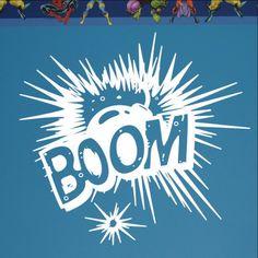 BOOM Explosion Vinyl Wall Graphic 22103