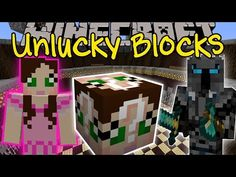 Minecraft: GAMINGWITHJEN UNLUCKY BLOCK CHALLENGE GAMES - Lucky Block Mod - Modded Mini-Game - YouTube