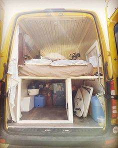 5 helpful tips for converting your RV from a Vanlifer Fancy van build-outs are awesome, but when you're sleeping in the woods, do you really need all those expensive features? For those of us who are camping in a camper van conversion, these 5 simple thin Build A Camper Van, Diy Camper, Rv Campers, Camper Storage, Camping Vans, Van Camping, Camping Places, Camper Van Shower, Van Life Blog