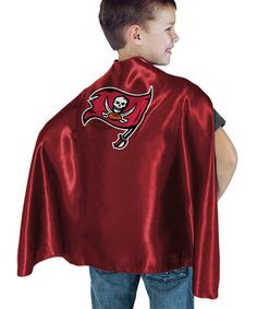 Take a look at this Tampa Bay Buccaneers Hero Cape by Bleacher Creatures on #zulily today!