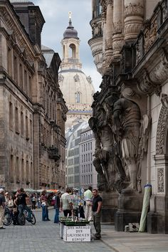 Dresden, Germany, Overlooking the Frauenkirche