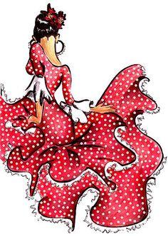 ilustraciones baile flamenco - Buscar con Google Ballet Illustration, Line Illustration, Amazing Drawings, Easy Drawings, Flamenco Dancers, Dance Pictures, Art Plastique, Beautiful Paintings, Art Sketches