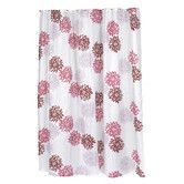 """Found it at Wayfair - Carnation Home Fashions """"Emma"""" Polyester Shower Curtain"""