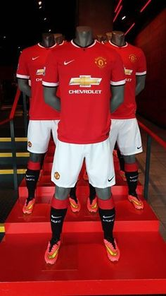 The new Manchester United home kit is available now at the online megastore ♥