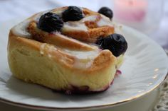 "Passion 4 baking  ""Blueberry Cinnamon Rolls"
