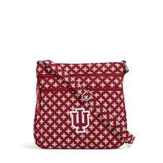 Officially licensed Indiana University bags from the Vera Bradley Collegiate Collection