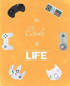 The Circle of Video games OMG....im old... sega dreamcast..just wiw ;-)