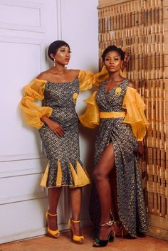 Ankara dress styles Top classic and Beautiful Ankara Styles to Rock African Dresses For Women, African Print Dresses, African Attire, African Wear, African Fashion Dresses, African Women, African Prints, Trendy Ankara Styles, Ankara Dress Styles