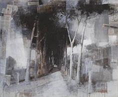 The Alley The Alley: Created with mixed media by Alexei Alpatov in 2010